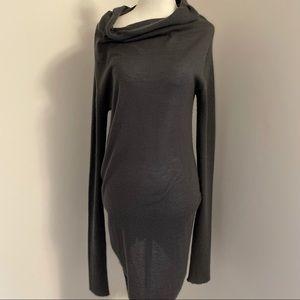 Rick Owens knit long sleeve dress